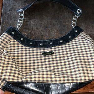 Longaberger purse chain strap black